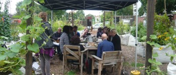 Collaborative breakfast at Loughborough Farm