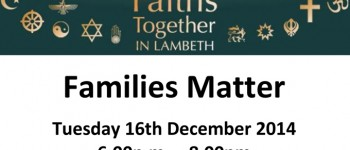 Families Against Stress and Trauma event