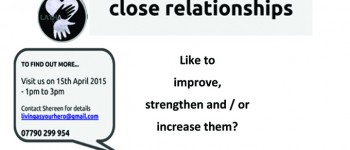 Peers lead on healthy close relationships work