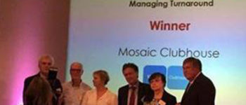 Mosaic Clubhouse clinches national governance award